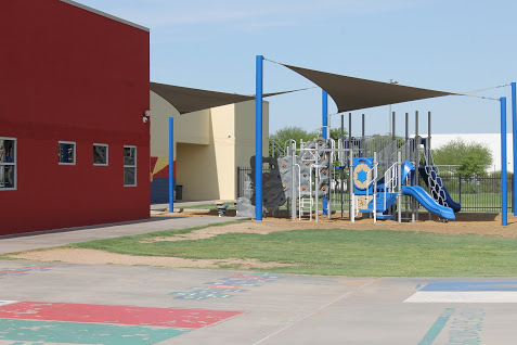 Ethos Academy Play Area